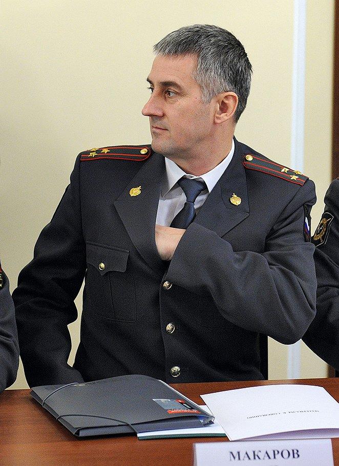 Начальник ГУСБ МВД Александр Макаров