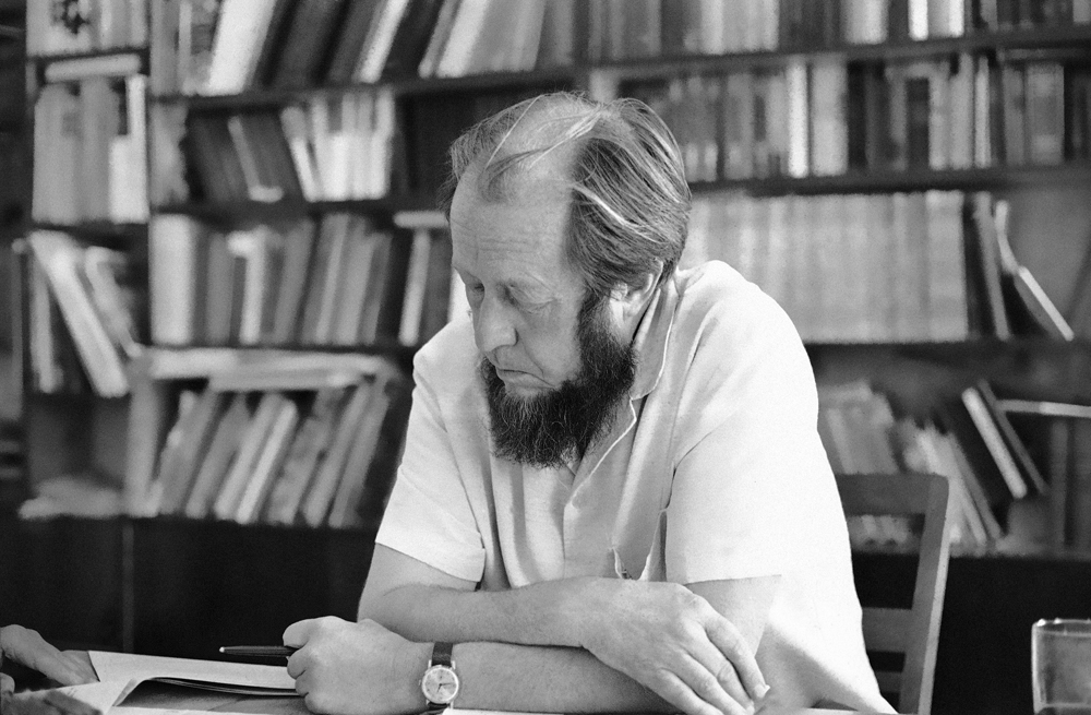 Александр Солженицын, август 1973 года. Фото: AP Photo