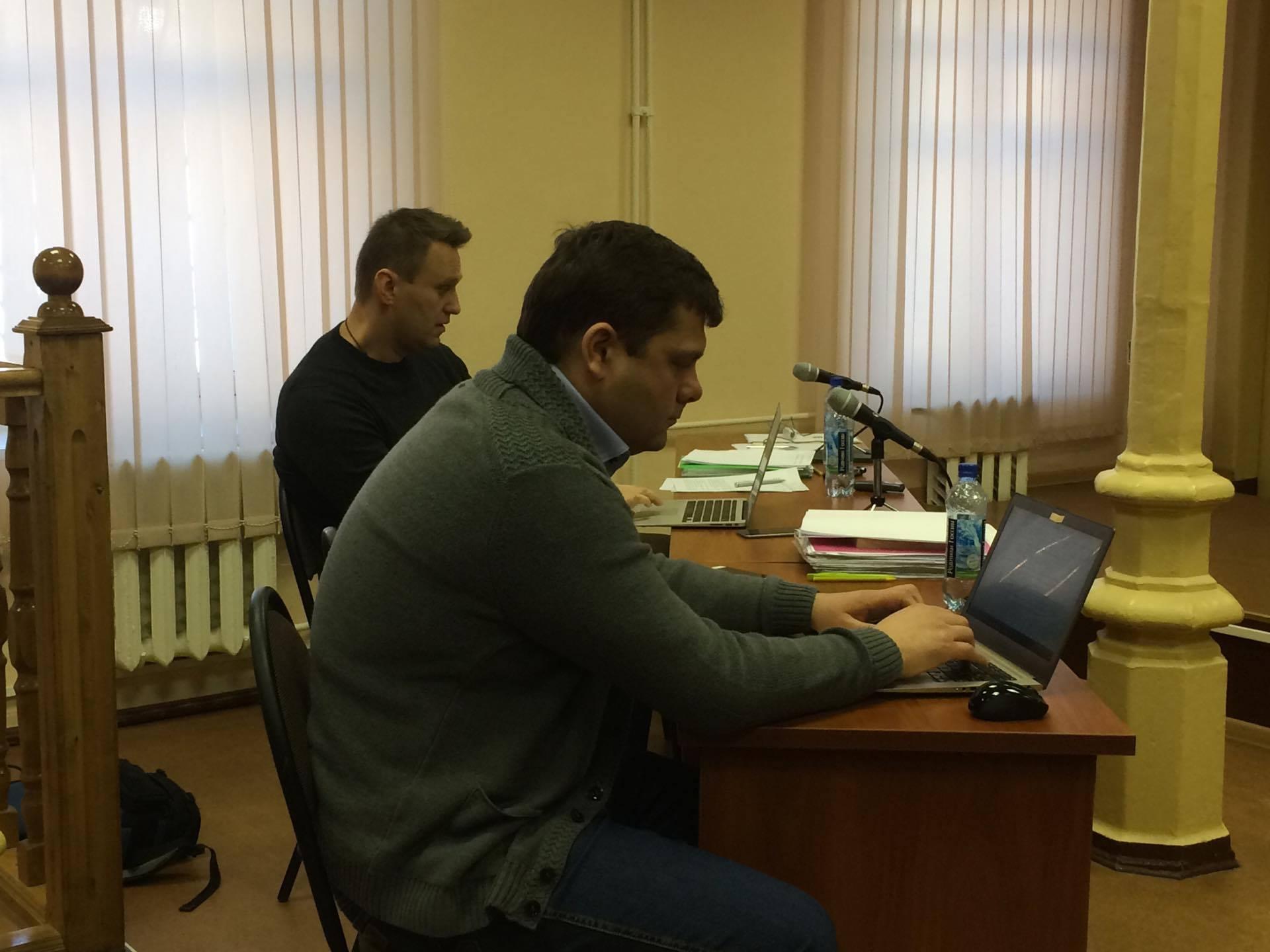 Обвинитель попросил приговорить Навального к 5-ти годам условного срока поделу «Кировлеса»
