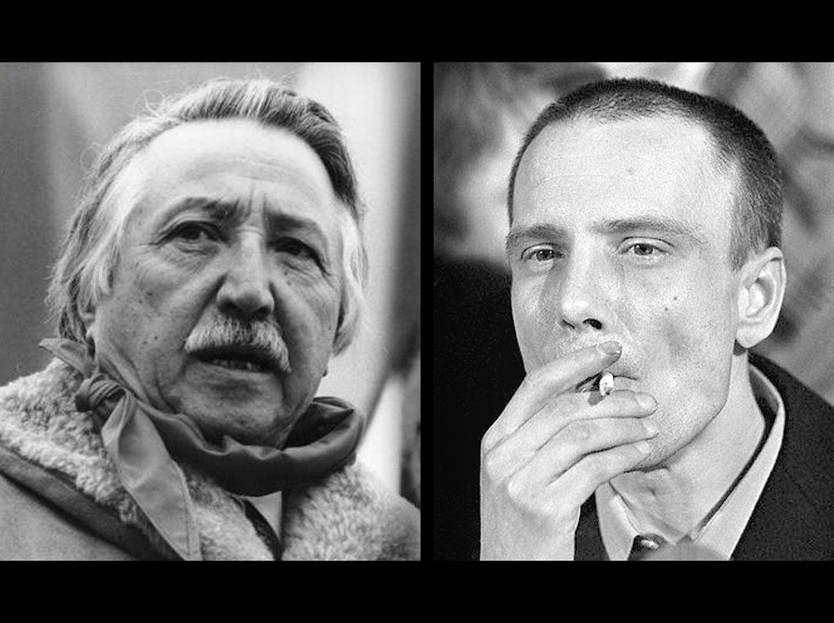 «Обменяли хулигана на Луиса Корвалана» — частушка, ходившая  про Владимира Буковского (справа)