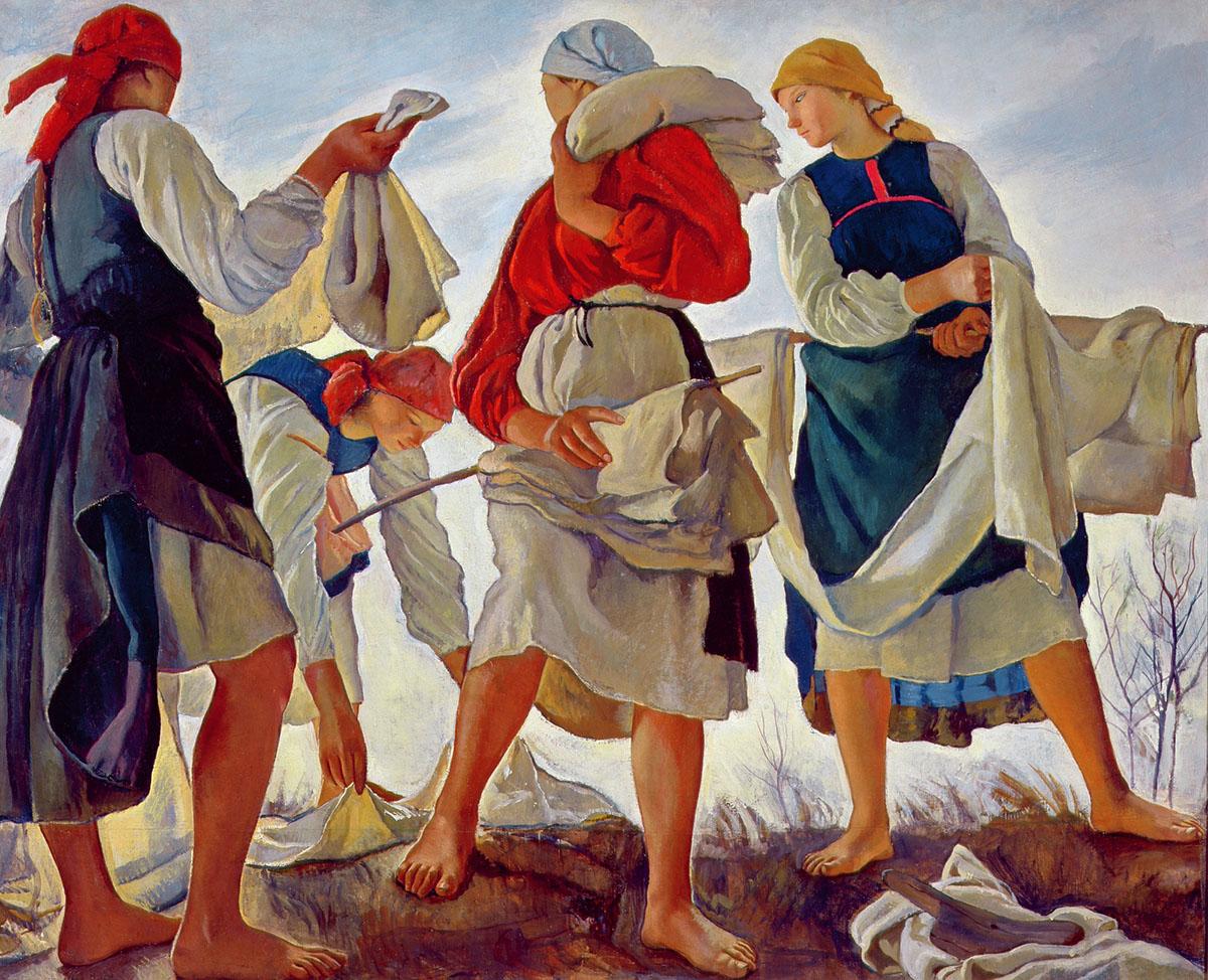 Зинаида Серебрякова вТретьяковской галерее: искреняя, свежая живопись