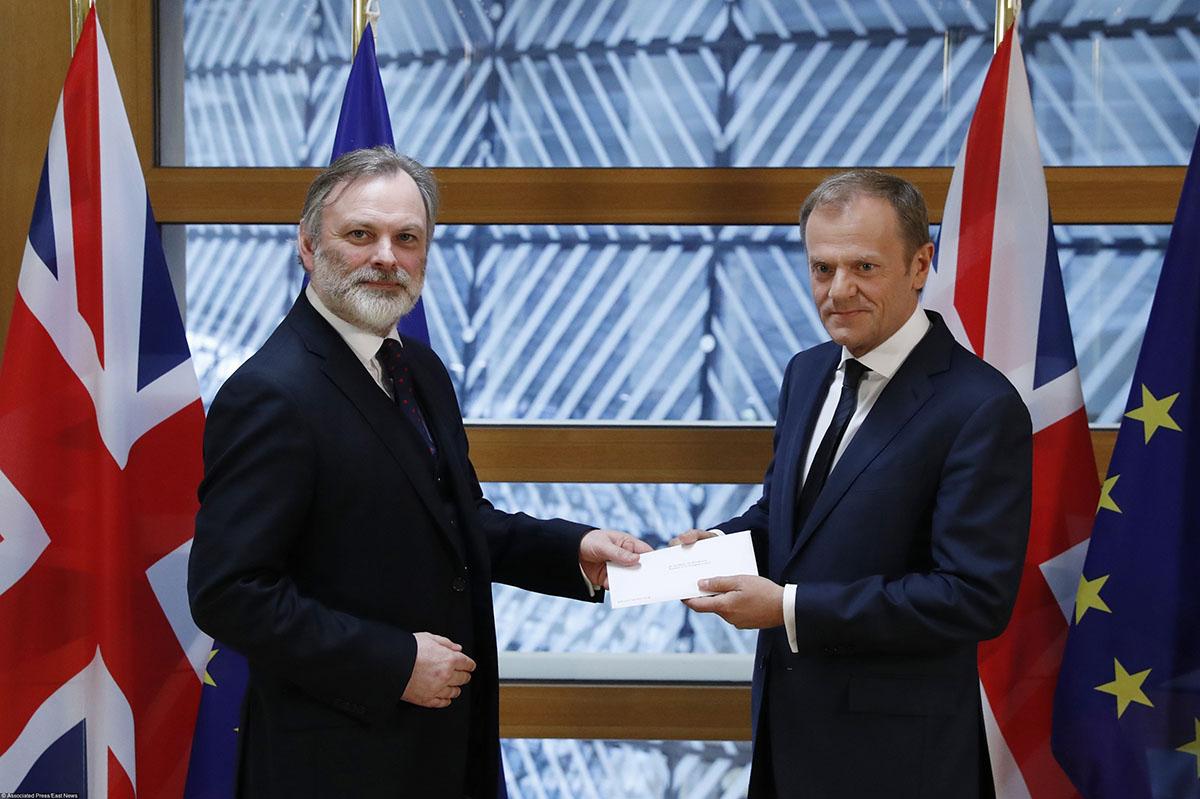 Процесс выхода Англии из европейского союза официально запущен