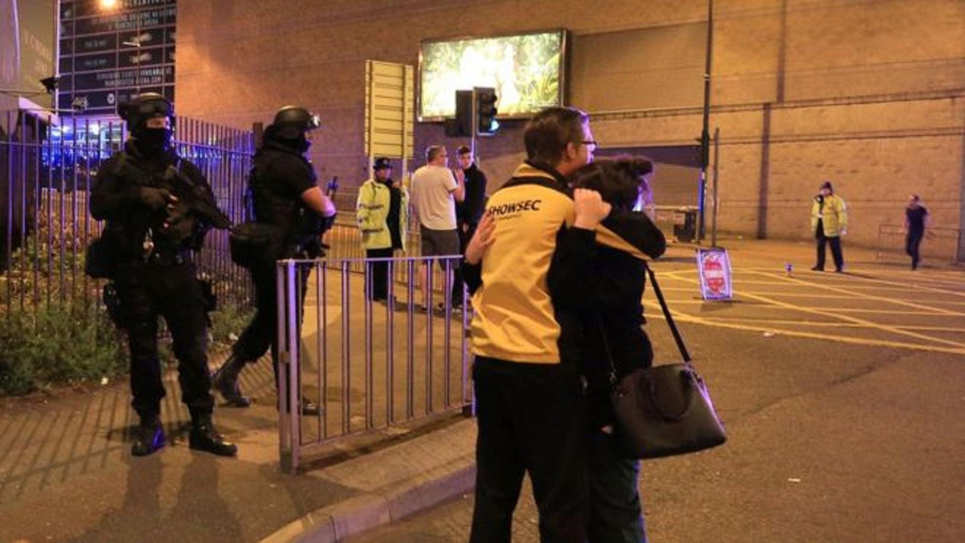 Семья Гвардиолы оказалась на «Манчестер Арене» во время теракта