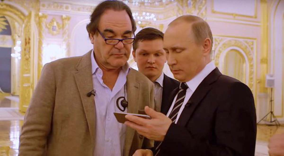 Жители России смогут увидеть «Интервью сПутиным» Оливера Стоуна уже сегодня