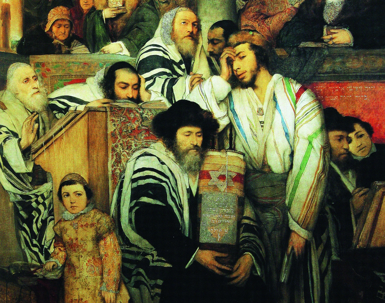"""Результат пошуку зображень за запитом """"Маурицій Готліб синагога в Йом кіпур"""""""
